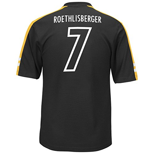 ben roethlisberger pittsburgh steelers majestic nfl men 39 s. Black Bedroom Furniture Sets. Home Design Ideas