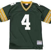 Brett-Favre-Green-Bay-Packers-Mens-NFL-Mitchell-Ness-Premier-Green-Jersey-Trikot-0