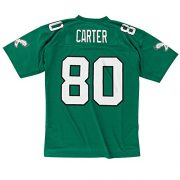 Cris-Carter-Philadelphia-Eagles-NFL-Mitchell-Ness-Throwback-Jersey-Trikot-Green-0-0