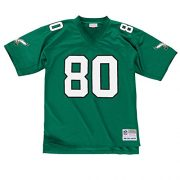 Cris-Carter-Philadelphia-Eagles-NFL-Mitchell-Ness-Throwback-Jersey-Trikot-Green-0