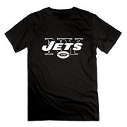 Delifhted-American-Football-New-York-Jets-pattern-Mens-T-Shirts-Black-0