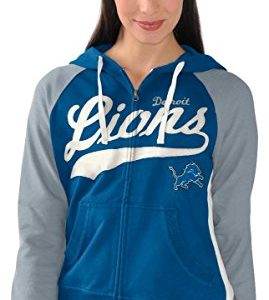 Detroit-Lions-Womens-NFL-G-III-All-World-Full-Zip-Hooded-Sweatshirt-0