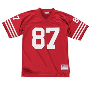Dwight-Clark-San-Francisco-49ers-Mens-NFL-Mitchell-Ness-Premier-Red-Jersey-Trikot-0