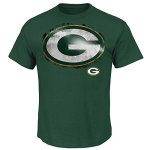 Green-Bay-Packers-Majestic-NFL-Line-to-Gain-III-Mens-T-Shirt-Green-0