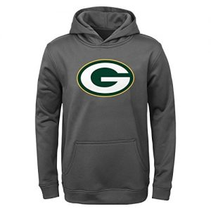 Green-Bay-Packers-Youth-Kinder-NFL-Tackle-Performance-Pullover-Hooded-Sweatshirt-0