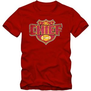 Im-a-Chief-8-T-Shirt-Football-Herren-Super-Bowl-Play-Offs-USA-FarbeRot-Red-L190GreL-0