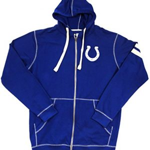 Indianapolis-Colts-Majestic-Full-Zip-Hooded-Sweatshirt-Gre-LT-0