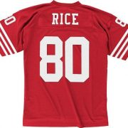 Jerry-Rice-San-Francisco-49ers-Mitchell-Ness-Throwback-Premier-Jersey-Trikot-Red-0-0