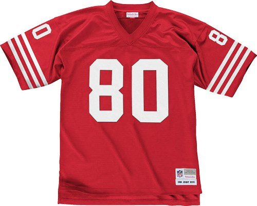 Jerry-Rice-San-Francisco-49ers-Mitchell-Ness-Throwback-Premier-Jersey-Trikot-Red-0