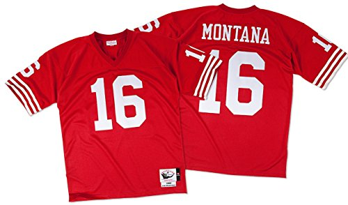 Joe-Montana-San-Francisco-49ers-Mitchell-Ness-Authentic-1989-Red-NFL-Jersey-Trikot-0