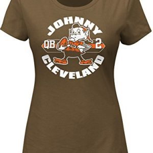 Johnny-Manziel-Cleveland-Browns-Womens-Majestic-NFL-Johnny-Cleveland-T-Shirt-0