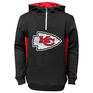 Kansas-City-Chiefs-Youth-Kinder-NFL-Power-Logo-Performance-Hooded-Sweatshirt-0