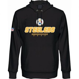 Majestic-Athletic-Pittsburgh-Steelers-Hoody-Graviar-schwarz-L-0
