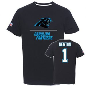 Majestic-Cam-Newton-1-Carolina-Panthers-Aggressive-Player-NFL-T-Shirt-S-0