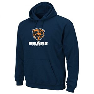 Majestic-Erwachsene-Hoody-NFL-Chicago-Bears-Blau-M-A3CBES404NVY001MED-0