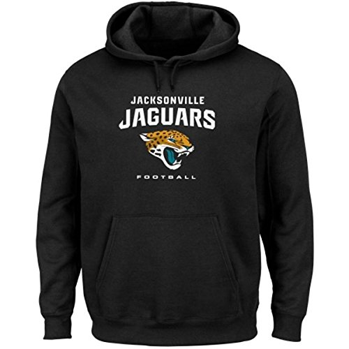 majestic erwachsene hoody nfl jacksonville jaguars. Black Bedroom Furniture Sets. Home Design Ideas