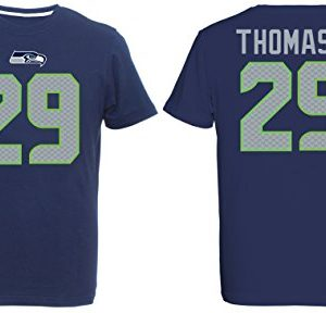Majestic-NFL-EARL-THOMAS-III-29-Seattle-Seahawks-Player-T-Shirt-GreM-0