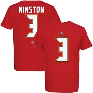 Majestic-NFL-JAMEIS-WINSTON-3-Tampa-Bay-Buccaneers-Player-T-Shirt-GreM-0