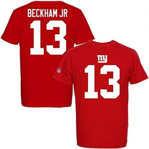 Majestic-NFL-ODELL-BECKHAM-JR-13-New-York-Giants-Player-T-Shirt-GreXL-0