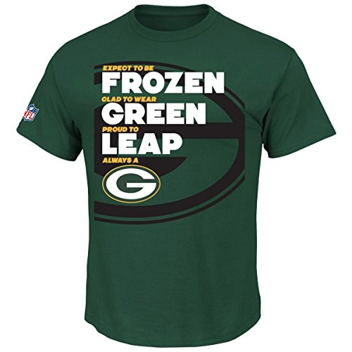 Majestic-Slogan-Fan-Shirt-NFL-Green-Bay-Packers-grn-M-0