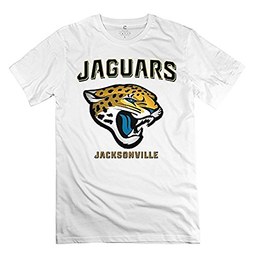 men 39 s t shirt jacksonville jaguars nfl white football. Black Bedroom Furniture Sets. Home Design Ideas