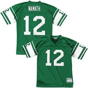 Mitchell-Ness-Joe-Namath-New-York-Jets-Throwback-NFL-Trikot-Grn-XL-0