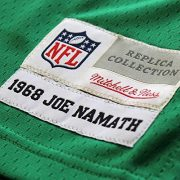 Mitchell-Ness-Joe-Namath-New-York-Jets-Throwback-NFL-Trikot-Grn-XL-0-2