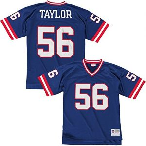 Mitchell-Ness-Lawrence-Taylor-New-York-Giants-Throwback-NFL-Trikot-Blau-S-0