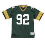 Mitchell-Ness-Reggie-White-Green-Bay-Packers-Throwback-NFL-Trikot-Grn-XXL-0-0