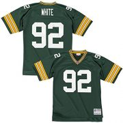 Mitchell-Ness-Reggie-White-Green-Bay-Packers-Throwback-NFL-Trikot-Grn-XXL-0