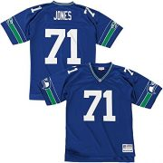 Mitchell-Ness-Walter-Jones-Seattle-Seahawks-Replica-Throwback-NFL-Trikot-Blau-M-0