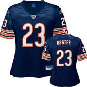 NFL-Football-JerseyTrikot-DamenLadies-CHICAGO-BEARS-Devin-Hester-navy-in-L-LARGE-0