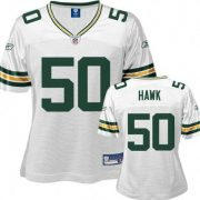NFL-Football-JerseyTrikot-DamenLadies-GREEN-BAY-PACKERS-AJ-Hawk-50-in-M-MEDIUM-0