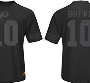 NFL-Football-ShirtJerseyTrikot-WASHINGTON-REDSKINS-RG3-Griffin-III-Hashmark-II-black-in-MEDIUM-M-0