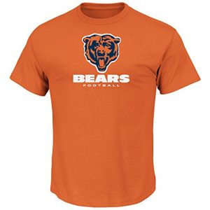 NFL-Football-T-Shirt-CHICAGO-BEARS-Critical-Victory-VIII-orange-in-XL-X-LARGE-0