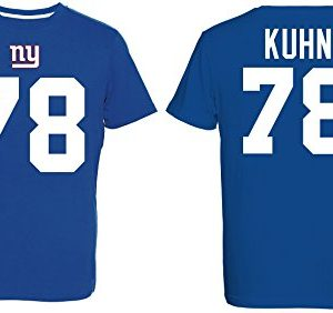 NFL-Football-T-Shirt-NEW-YORK-GIANTS-Markus-Kuhn-78-Eligible-Receiver-in-XXL-2XL-0