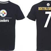 NFL-Football-T-Shirt-PITTSBURGH-STEELERS-Ben-Roethlisberger-7-aggressiv-LARGE-L-0