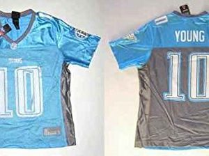 NFL-Football-TrikotJersey-DamenWomen-TENNESSEE-TITANS-Vince-Young-10-in-L-LARGE-0