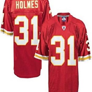 NFL-Football-TrikotJersey-KANSAS-CITY-CHIEFS-Priest-Holmes-31-rot-in-L-LARGE-0