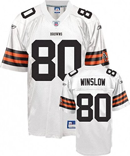 NFL-Football-TrikotJersey-ONFIELD-CLEVELAND-BROWNS-Winslow-80-white-in-sz-54-XXL-2XL-0