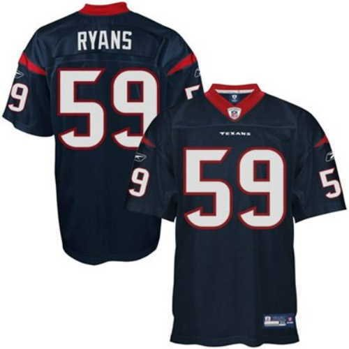 NFL-Football-TrikotJersey-ONFIELD-HOUSTON-TEXANS-Demeco-Ryans-59-in-sz-50-navy-in-XL-X-LARGE-0