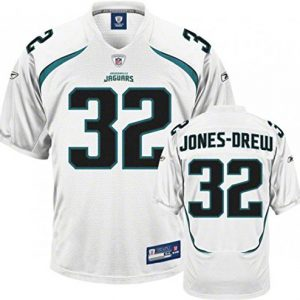NFL-Football-TrikotJersey-ONFIELD-JACKSONVILLE-JAGUARS-Jones-Drew-32-white-in-sz-50-in-XL-X-LARGE-0