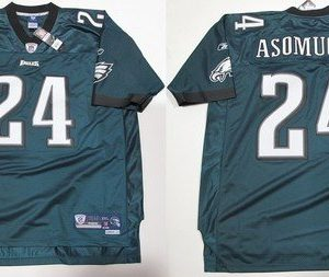 NFL-Football-TrikotJersey-PHILADELPHIA-EAGLES-Nnamdi-Asomugha-24-green-in-S-SMALL-0