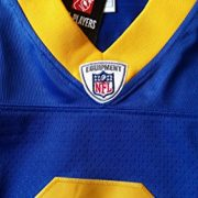 NFL-Football-TrikotJersey-Premier-LOS-ANGELES-RAMS-Sam-Bradford-vintage-in-L-LARGE-0-0