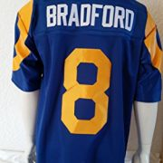 NFL-Football-TrikotJersey-Premier-LOS-ANGELES-RAMS-Sam-Bradford-vintage-in-L-LARGE-0-1
