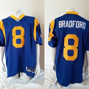 NFL-Football-TrikotJersey-Premier-LOS-ANGELES-RAMS-Sam-Bradford-vintage-in-L-LARGE-0