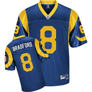 NFL-Football-TrikotJersey-Premier-LOS-ANGELES-RAMS-Sam-Bradford-vintage-in-S-SMALL-0