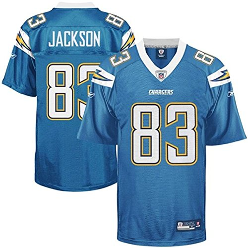 NFL-Football-TrikotJersey-Premier-SAN-DIEGO-CHARGERS-Jackson-83-blau-in-LARGE-L-0