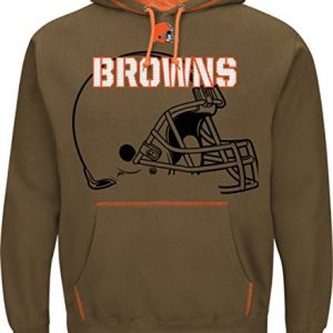 NFL-Hooded-SweaterHoodyHoodie-CLEVELAND-BROWNS-SEAM-PASS-in-XL-0