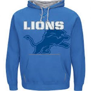 NFL-Hooded-SweaterHoodyHoodie-DETROIT-LIONS-SEAM-PASS-in-XXL-2XL-0